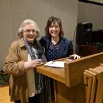 President Judy Malouf with guest speaker Mitzi Montoya