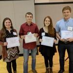2018 OSU Folk Club Second Year Scholarship Recipients