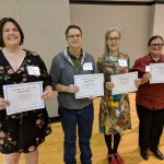 Recipients of the OSU Folk Club non-traditional women student scholarships